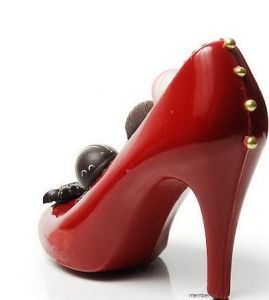 Edible Chocolate High Heels, Shoe Centerpieces Bridal Showers