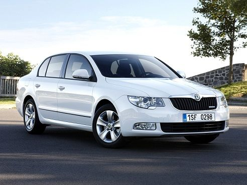 Skoda Superb GreenLine (2009 – 2013).