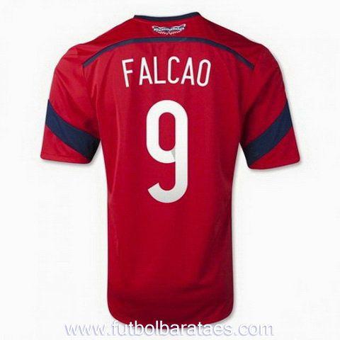 Nueva camiseta de Falcao 2nd Colombia 2014-2016 baratas