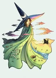 Tiffany Aching, young witch from some of Terry Pratchett's Discworld novels
