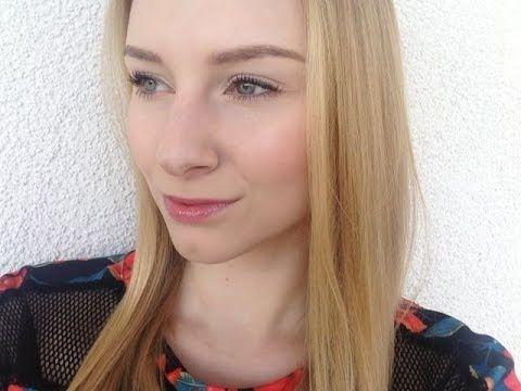 Mój codzienny makijaż- wiosna/lato - [ CallMeBlondieee ] - YouTube