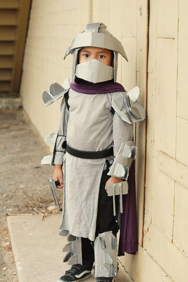 shredder costume homemade | TMNT Shredder Costume