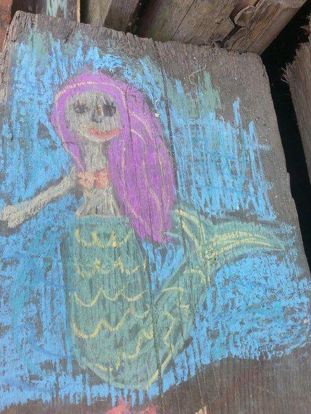 Хвост русалки (Mermaid tails) #рисунки #русалки #рисункирусалка