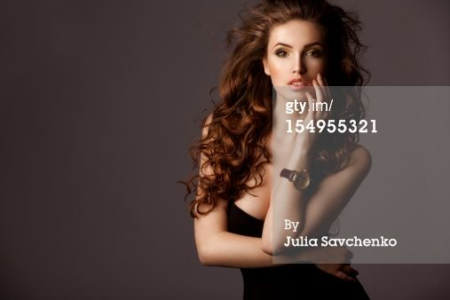 Title: Portrait of a gorgeous woman with watches Creative image #: 154955321 License type: Royalty-free Photographer: Julia Savchenko Collection: E+ Credit: Julia Savchenko Release information:This image has a signed model and property release. This image is available for commercial use. Copyright: Julia Savchenko Availability: Availability for this image cannot be guaranteed until time of purchase.