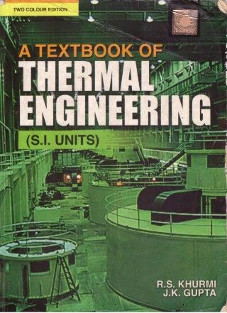 Thermal Engineering Textbook Pdf