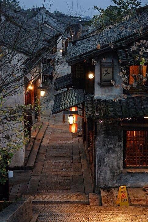 Wuzhen old town in Zhejiang province, China