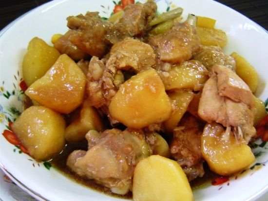 Рецепт мультиварки курица с картошкой