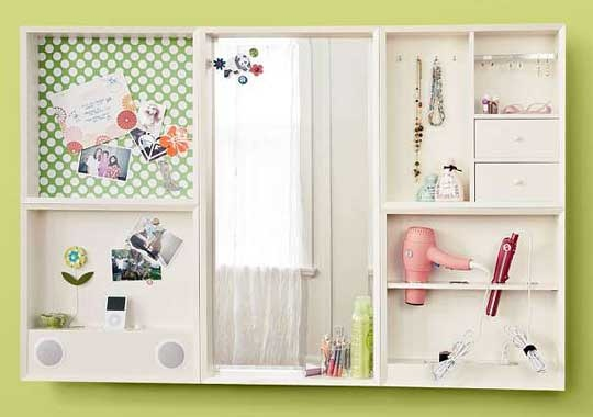 pb teen perfect wall decor for organization of an tween. Black Bedroom Furniture Sets. Home Design Ideas