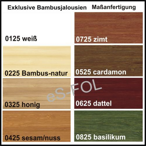 bambusjalousie bambusrollo holzjalousien jalousie maybe. Black Bedroom Furniture Sets. Home Design Ideas