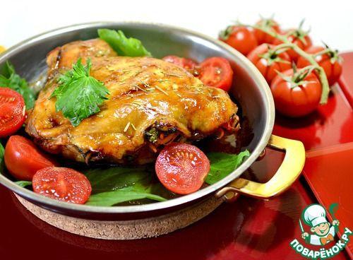 Глянцевое мясо на сковороде - кулинарный рецепт