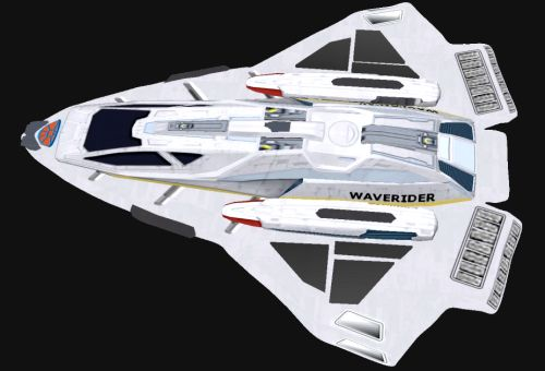 Waverider atmospheric surveyor. Specifically for Nova class science ships.