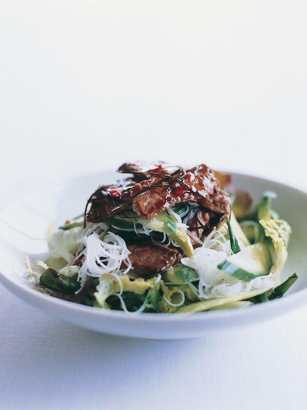Lime Beef & Noodle Salad via Donna Hay #recipe