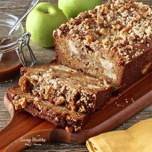 Warm Caramel Apple Pie Bread Recipe
