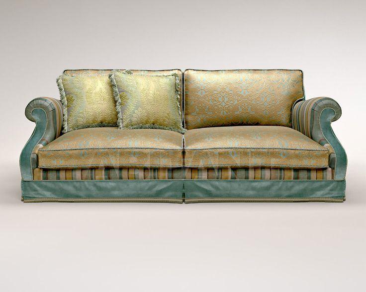 Диван светло-коричневый Bruno Zampa LUISITO PATCHWORK, Каталог мебели ABITANT Москва