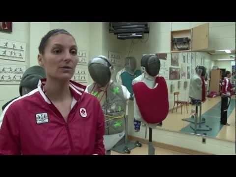 Sandra Sassine, étudiante au baccalauréat en enseignement de l'éducation physique et à la santé de l'UQAM, est qualifiée pour les Jeux olympiques 2012 en sabre féminin. Les Jeux olympiques auront lieu du 27 juillet au 12 août 2012 à Londres.