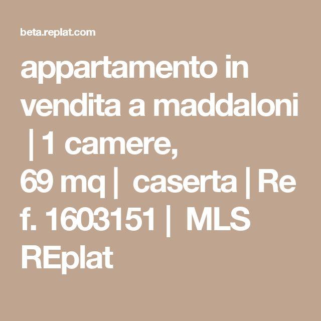 appartamentoin venditaamaddaloni|1camere, 69mq|caserta|Ref.1603151|            MLS REplat