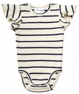 Mini rodini: striped onesie