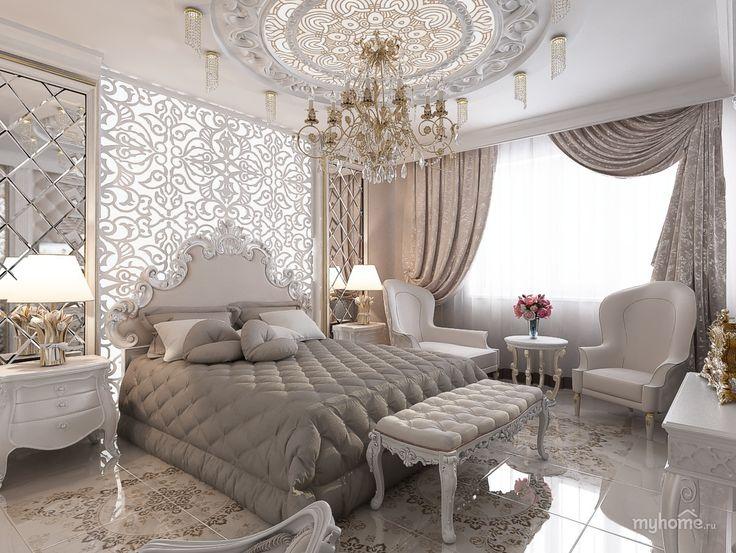 Спальня в 4-комнатной квартире. Спальня