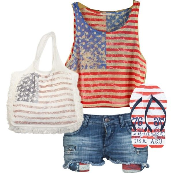 Need this for the Olympics!: Birthday, Fun Outfits, July Outfits, Looks Polyvore, Jordans, Super Outfits, Clothing For 4Th Of July, July Fit, Coming Home Outfits