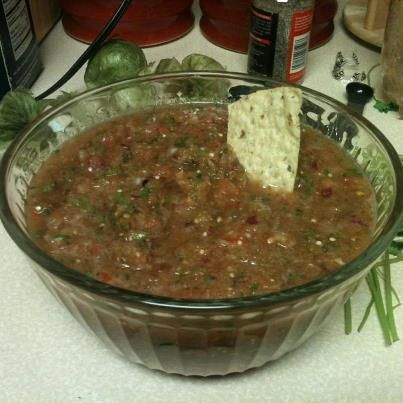 The Daily Education: Chipotle's Medium Salsa Recipe!