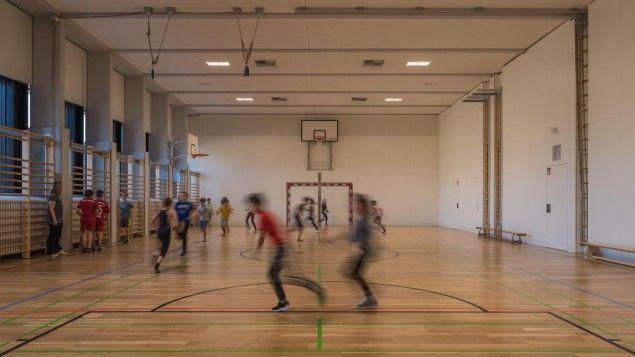 Baden, Pädagogische Hochschule, Turnsaal Baden, College of Education, Gymnasium…
