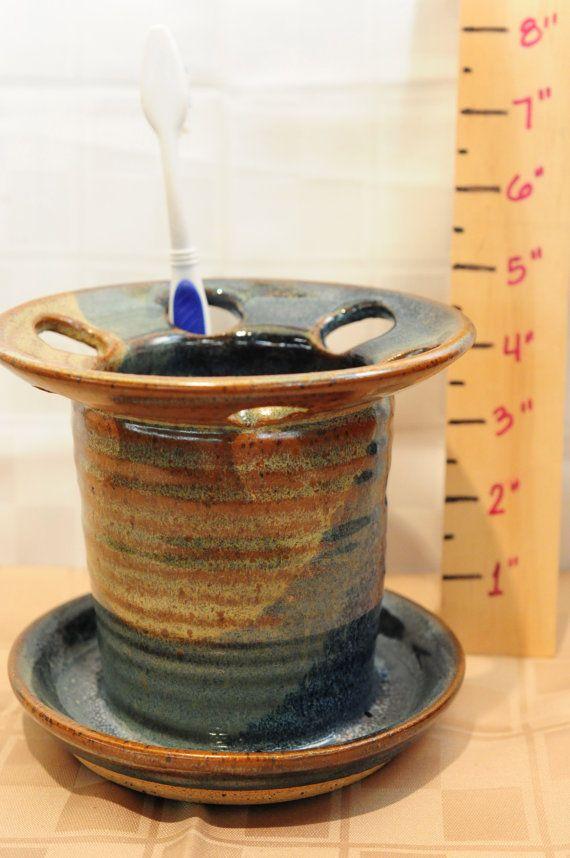 6 Trous en grès céramique accessoir par cathysclaycreations sur Etsy
