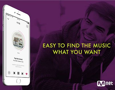 """Check out new work on my @Behance portfolio: """"MNET.COM music mobile UI re-design"""" http://be.net/gallery/44752415/MNETCOM-music-mobile-UI-re-design"""