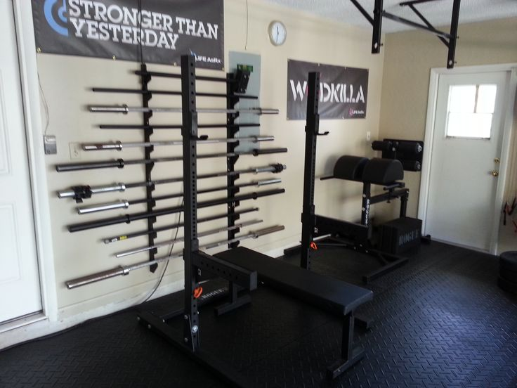 New Home Garage Gym