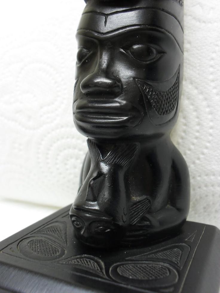 Images about haida argillite carvings on pinterest