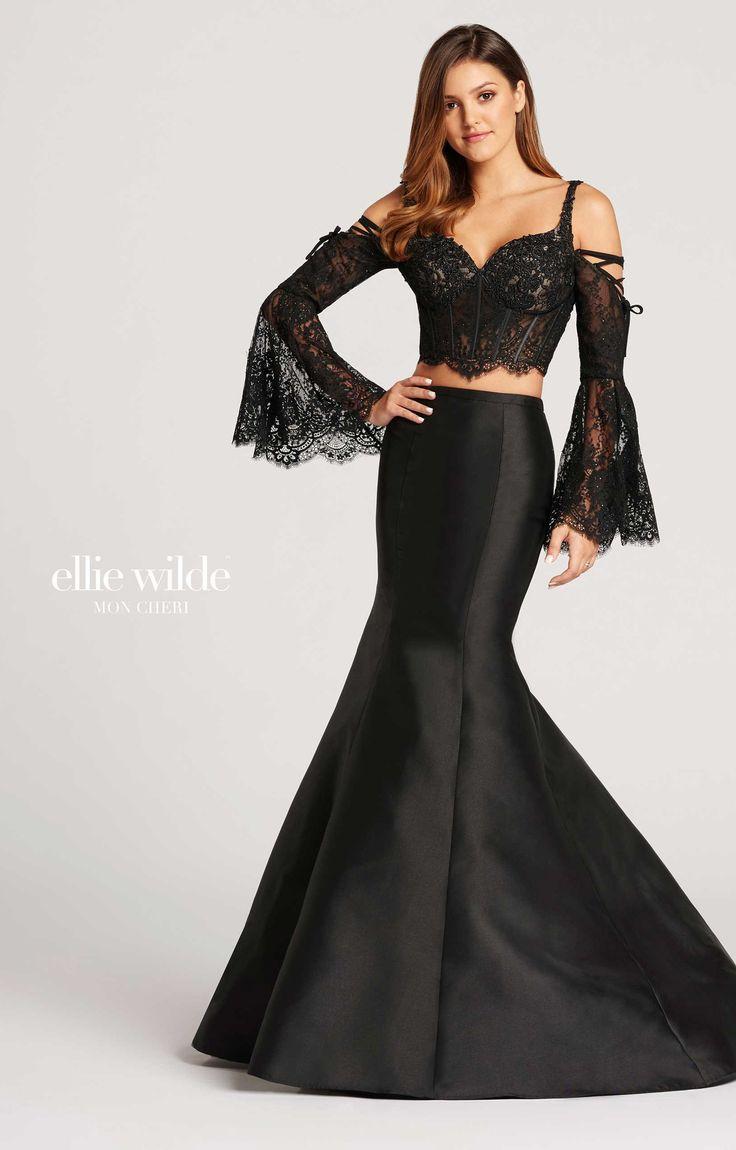 Ellie Wilde EW118060   Long Mermaid and Two Piece Dress