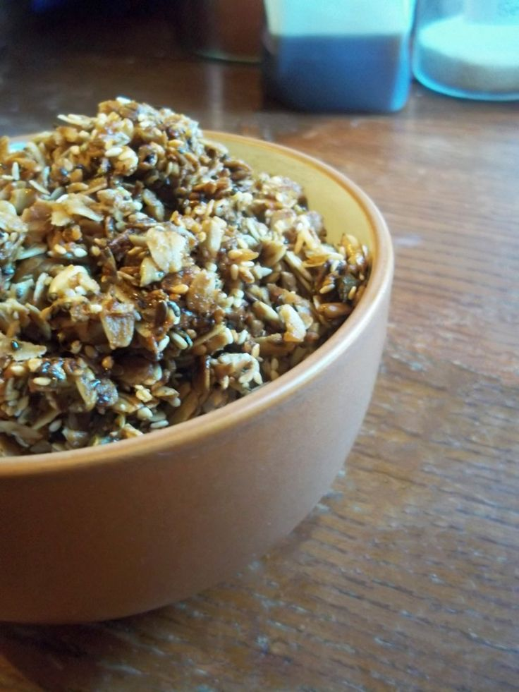 Natural Chow | Homemade Granola Cereal | http://naturalchow.com