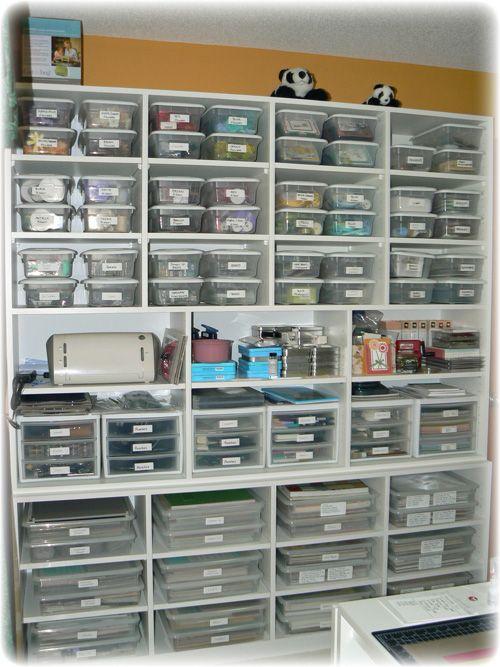 This room looks pretty organized! Feline Creative: My Craft Room