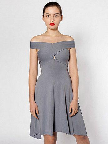 American Apparel - Cotton Spandex Jersey Bandeau Dress   Multiple ways to wear it!!! Love it!