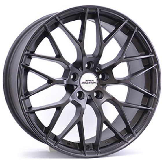 19 AC SAPHIRE MATT BLACK alloy wheels for 5 studs wheel fitment in 8.5x19 rim size