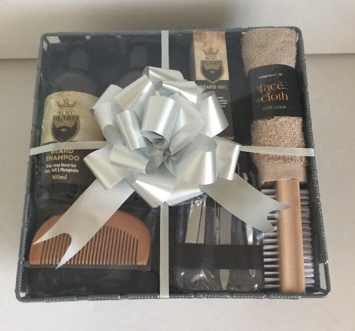 d39115c2332f1 Gift Ideas for Him Birthday Thank You Gift Basket Pamper Hamper Present Men