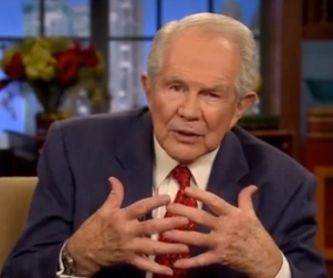 """Video: Pat Robertson Claims """"Hard-Nosed"""" Women Ruin Marriages http://www.opposingviews.com/i/religion/christianity/video-pat-robertson-claims-hard-nosed-women-ruin-marriages"""
