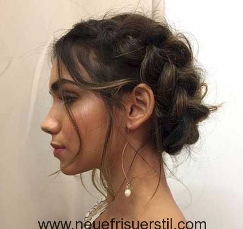 Adorable plaited short hairstyles you will love it