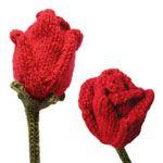 roses knitting pattern