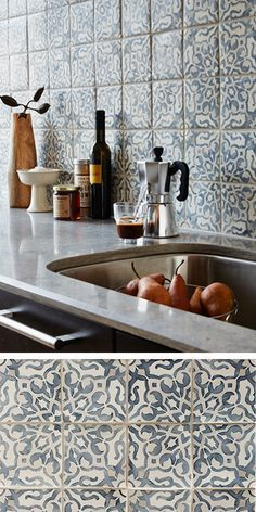 plain hand painted tiles for kitchen backsplash in vancouver with
