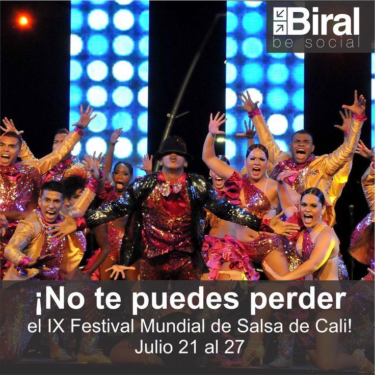 Festival Mundial de la Salsa. Cali - Colombia