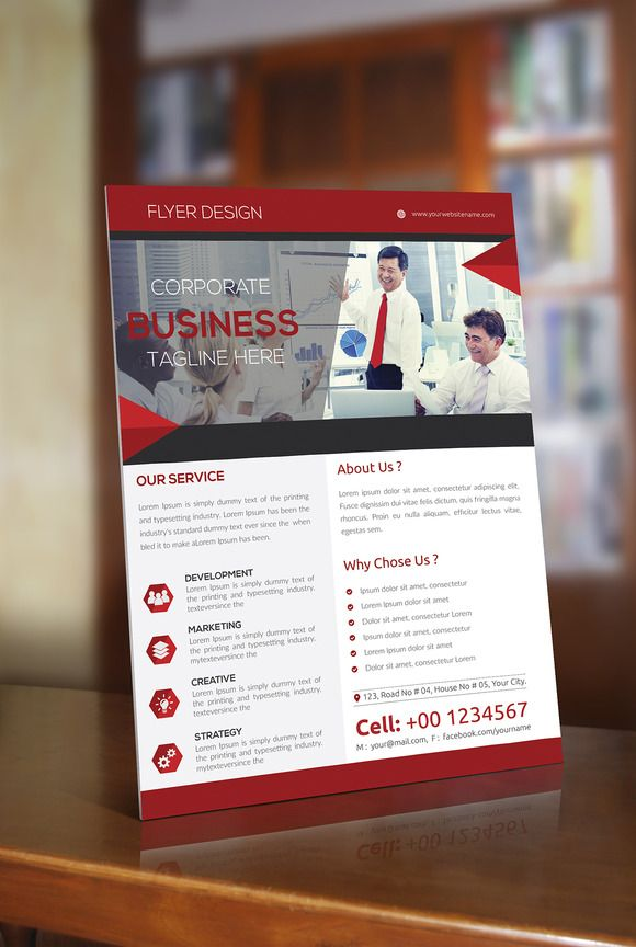 Corporate Flyer Design by@Graphicsauthor