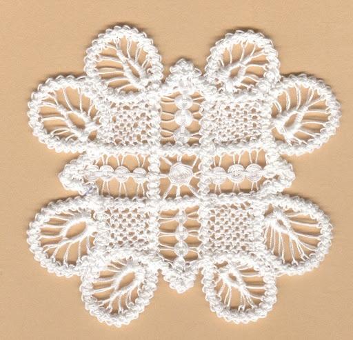 Macrame Romania  - Romanian Point Lace crochet mat