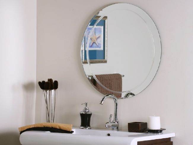 Bathroom Oval Mirrors For Walls