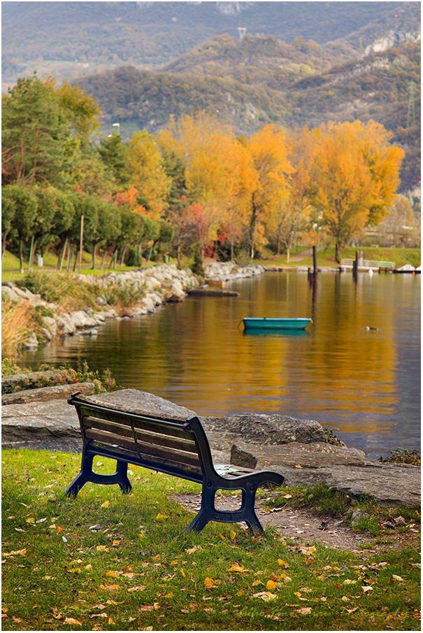 The bench by Alfio Finocchiaro