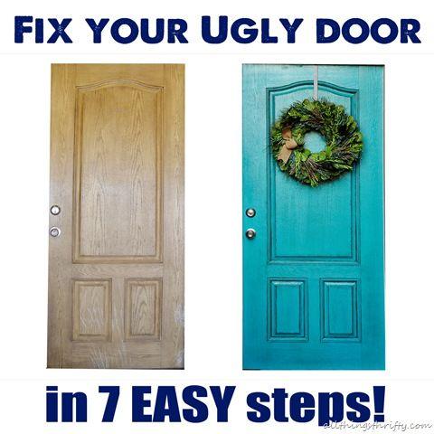 How to paint your front door!