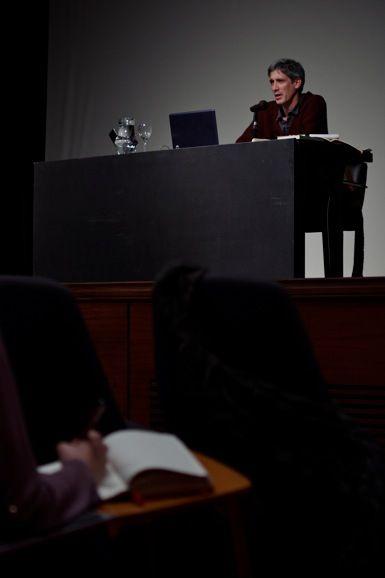 """Durante Clase Magistral #PanoramaSur2014 """"La emergencia de lo real en la escena: la perspectiva del director"""" de Cipriano Argüello Pitt """" / Auditorio Museo MALBA, 23 de Junio de 2014.  (Fotos: Ernesto Donegana)"""