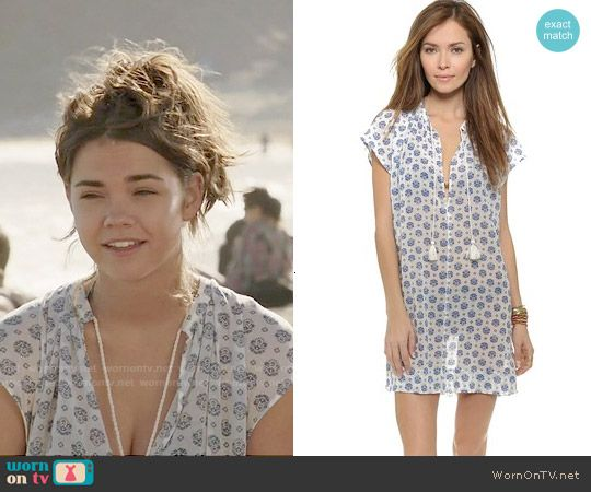 Callie's swim cover-up on The Fosters.  Outfit Details: http://wornontv.net/50115/ #TheFosters