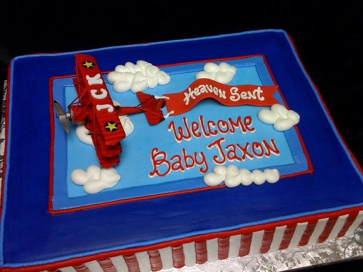 D Airplane Cake