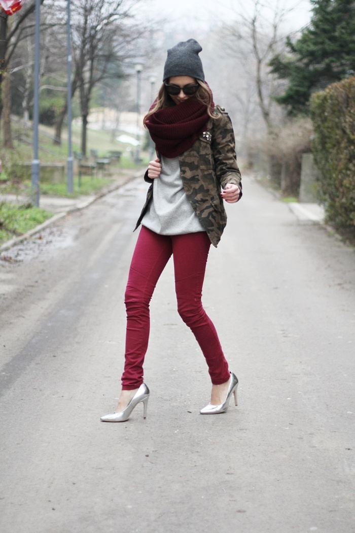shoes:bershka, pants: bershka,    sweater: zara man, jacket: thanks to romwe, scarf: zara