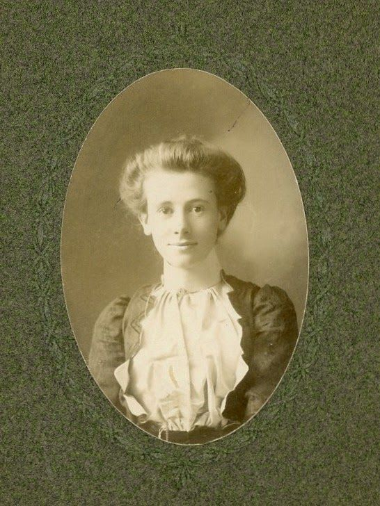 This is Maud.  That's all I know.  Her name was written on the back.  The Old Trunk in the Attic: Friday's Faces from the Past